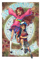 mystery twins by hadenamomo