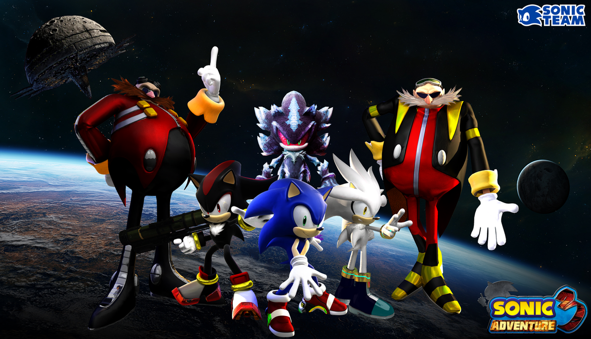 Sonic Adventure 3: The Time Challenge by eggmanteen