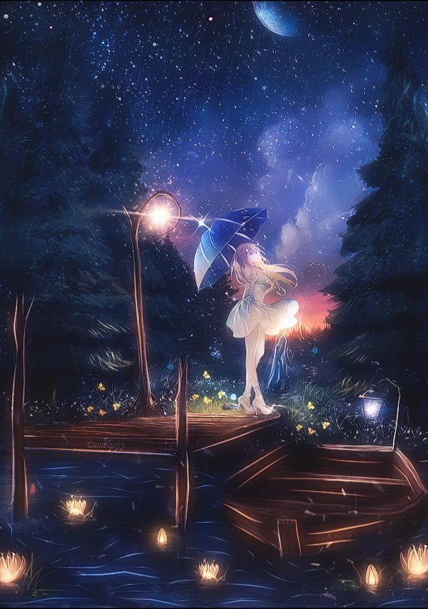 The night garden by ToshinoriYagi