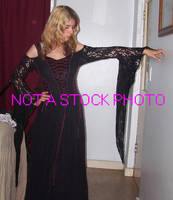 Black Dress by crimsonphotostock
