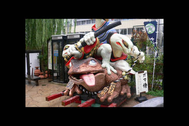 Samourai frog by Osiris-NihonWa