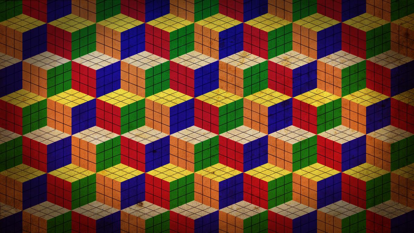 Rubik S Cube Wallpaper By Villhelm E On Deviantart