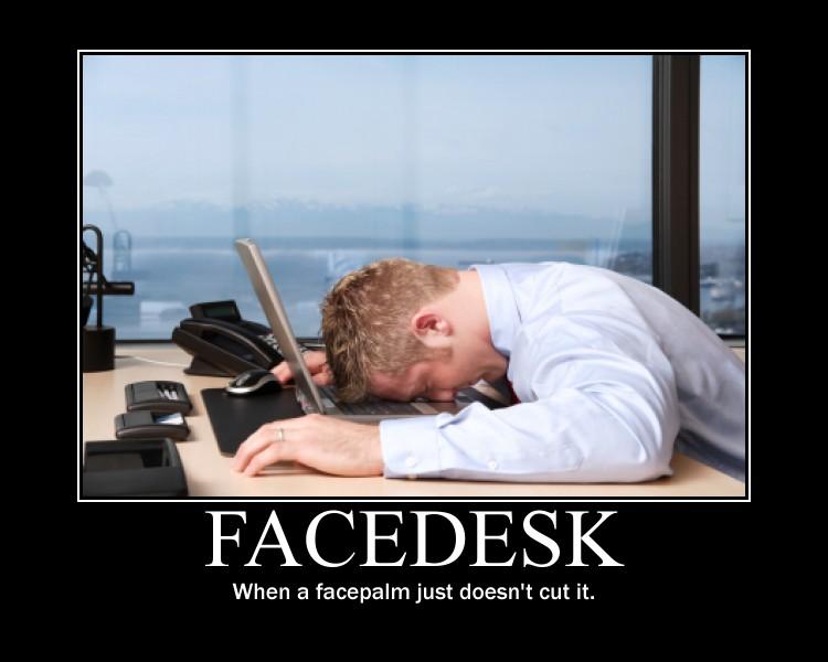 facedesk