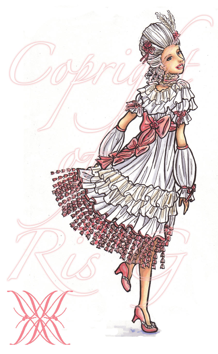 d: Blushing Rose :b by nenuiel