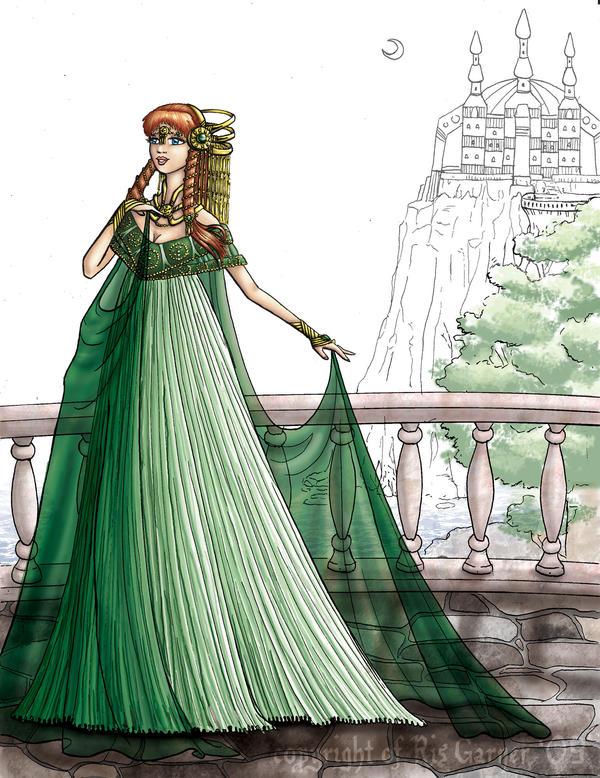 d: Princess Izka :b by nenuiel