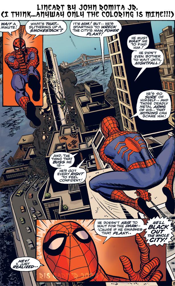 d: Retro Spiderman :b by nenuiel