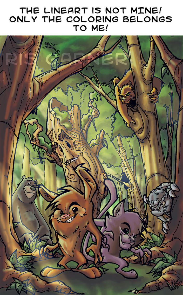 d: Living Forest :b by nenuiel