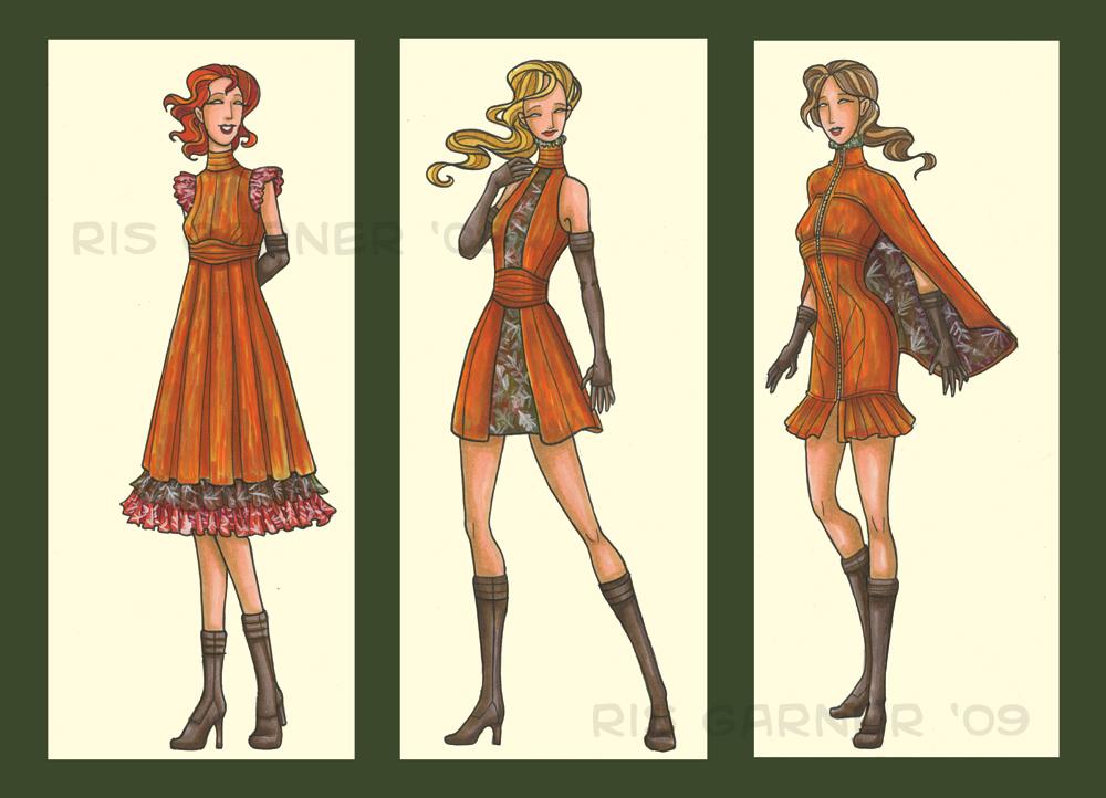 d: Fall Fairies :b by nenuiel