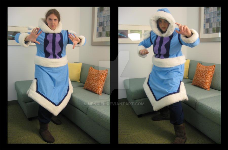 d: Katara Costume :b by nenuiel