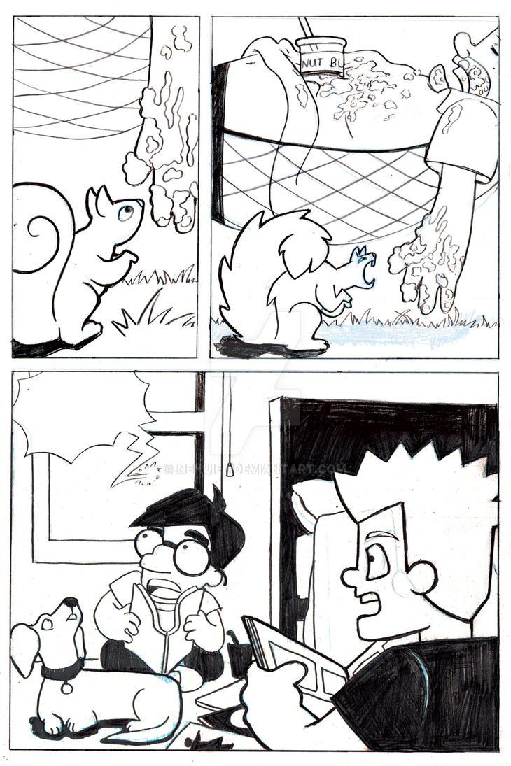 d: Bartman Pg 1 :b by nenuiel