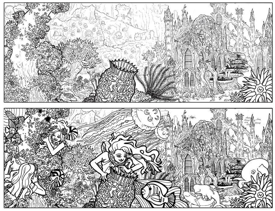 d: Underwater Forest :b by nenuiel