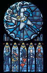 d: Batman Rose Window :b
