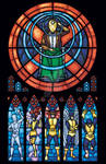 X-men Stained Glass: Original