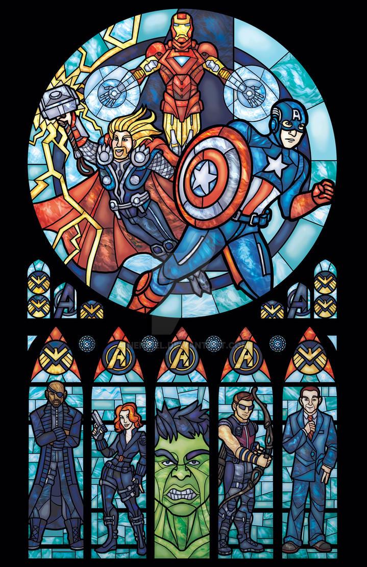 Avengers ASSEMBLED by nenuiel