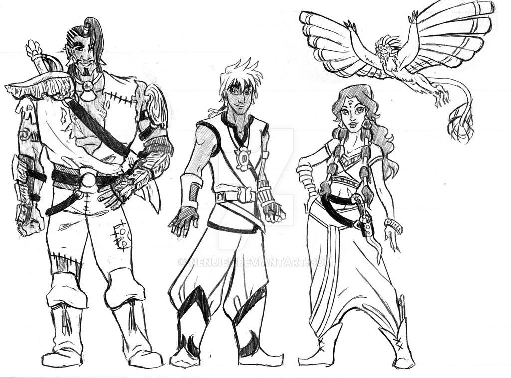Pirates of Dark Water Lineup by nenuiel
