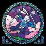 Usagi Yojimbo In Stained Glass