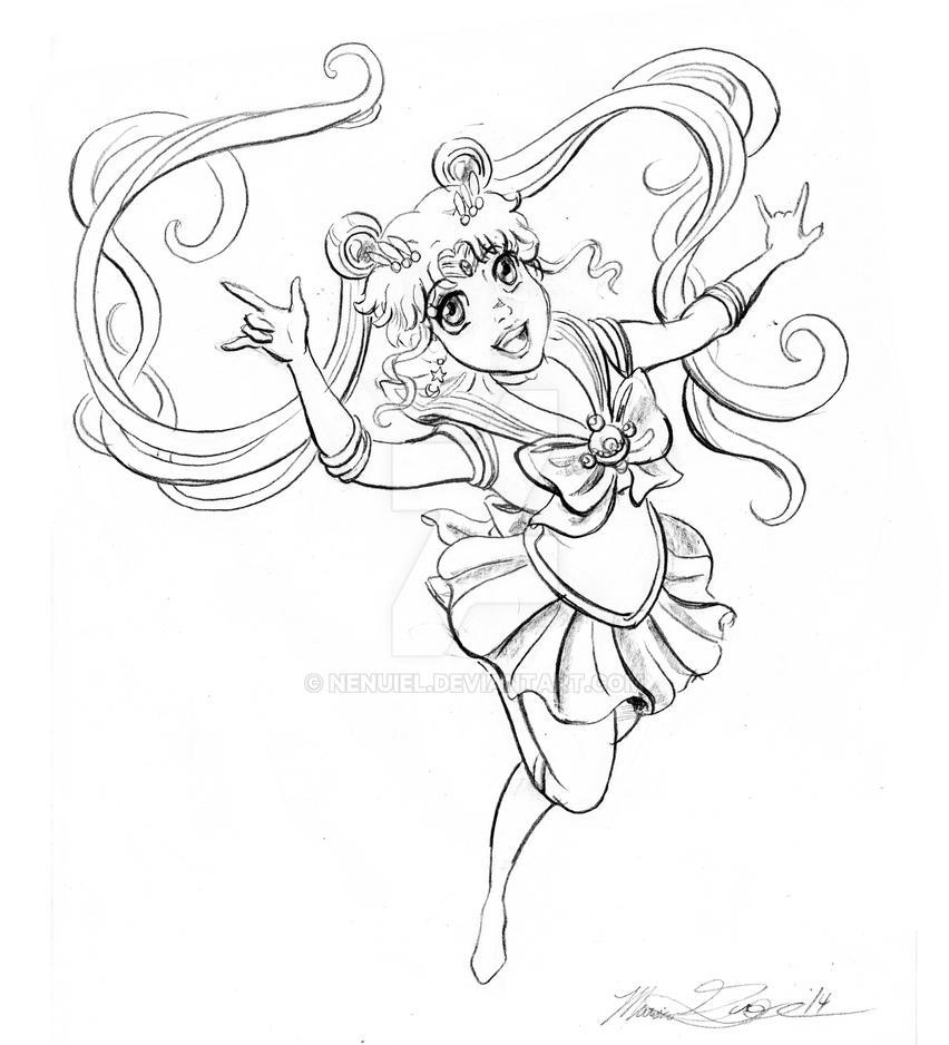 Celebration of Sailor Moon Crystal by nenuiel