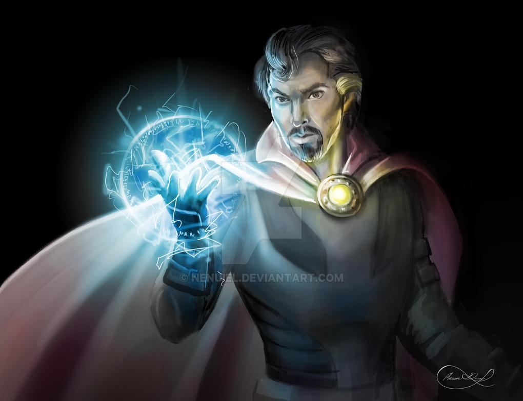Dr. Strange by nenuiel
