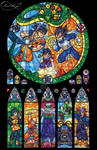 Dragon Ball Z Stained Glass