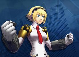 Persona 4 Arena Aigis