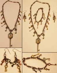 Chainmaille Key Set