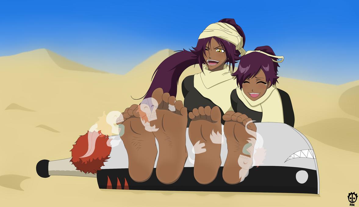 Shihouin Sisters' Desert Distress by BoneBoneKing