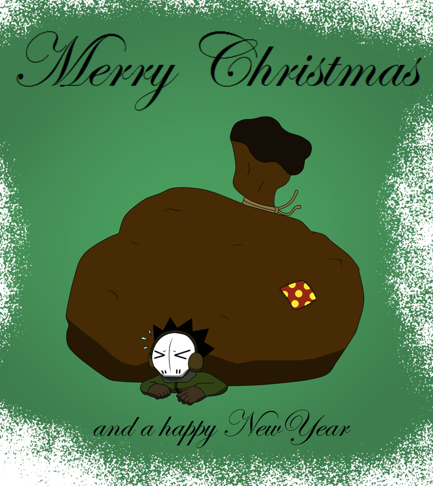 Merry Christmass + Read decription plz by BoneBoneKing