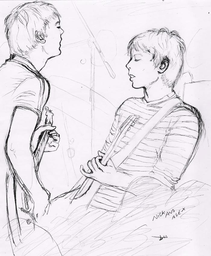 Alex and Nick by B-TURKS