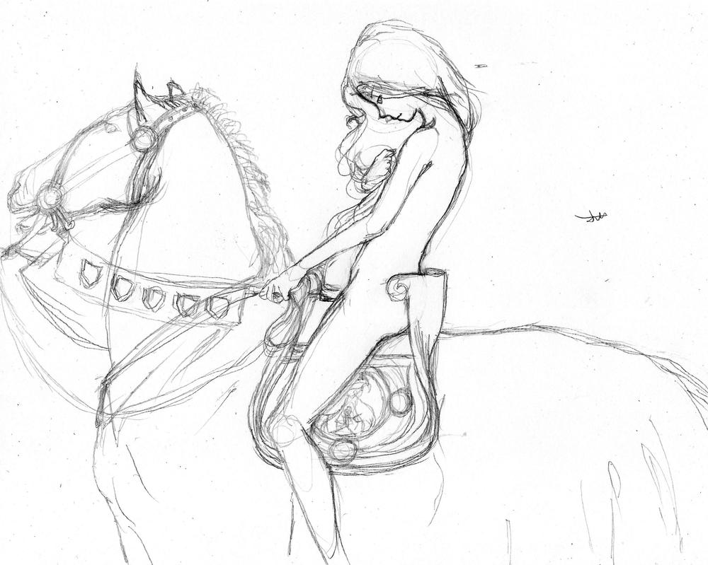 Lady Godiva by B-TURKS