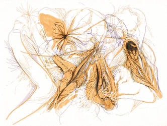 Flesh Flowers by Kradok