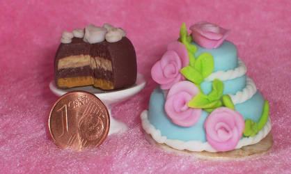 Polymer Clay Cakes3 by ValerianaSolaris