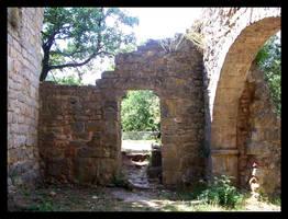 Thoronet Abbey Ruins by ValerianaSolaris