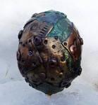 Polymer Clay Steampunk Egg4