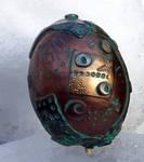 Polymer Clay Steampunk Egg7