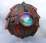 Polymer Clay Steampunk Egg10