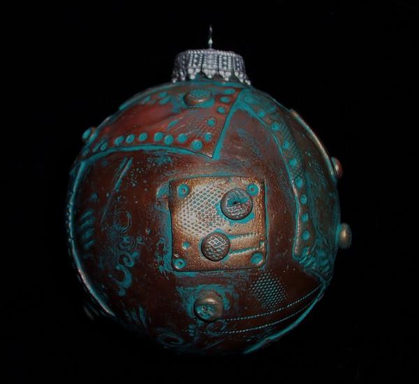 Steampunk Christmas Ornament2