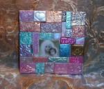 Polymer Clay Madonna Mosaic
