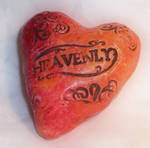 Polymer Clay Fimo Heart