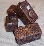 Steampunk Polymer Clay Blocks3