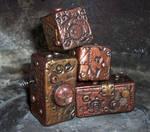 Steampunk Polymer Clay Blocks4