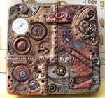 Polymer Clay Steampunk Tin