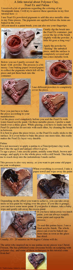 Tutorial Pearl Ex Patina