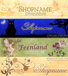 Banners for Shop or Blog