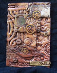 Polymer Clay Steampunk ACEO