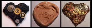 Polymer Clay Mould and Cast