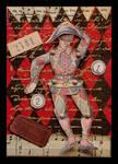 Harlequin Collage