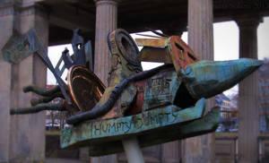 Humpty Dumpty Sculpture Jonathan Meese