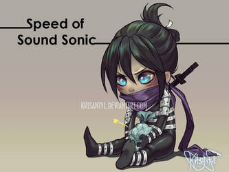 Speed of Sound Sonic by Krisantyl
