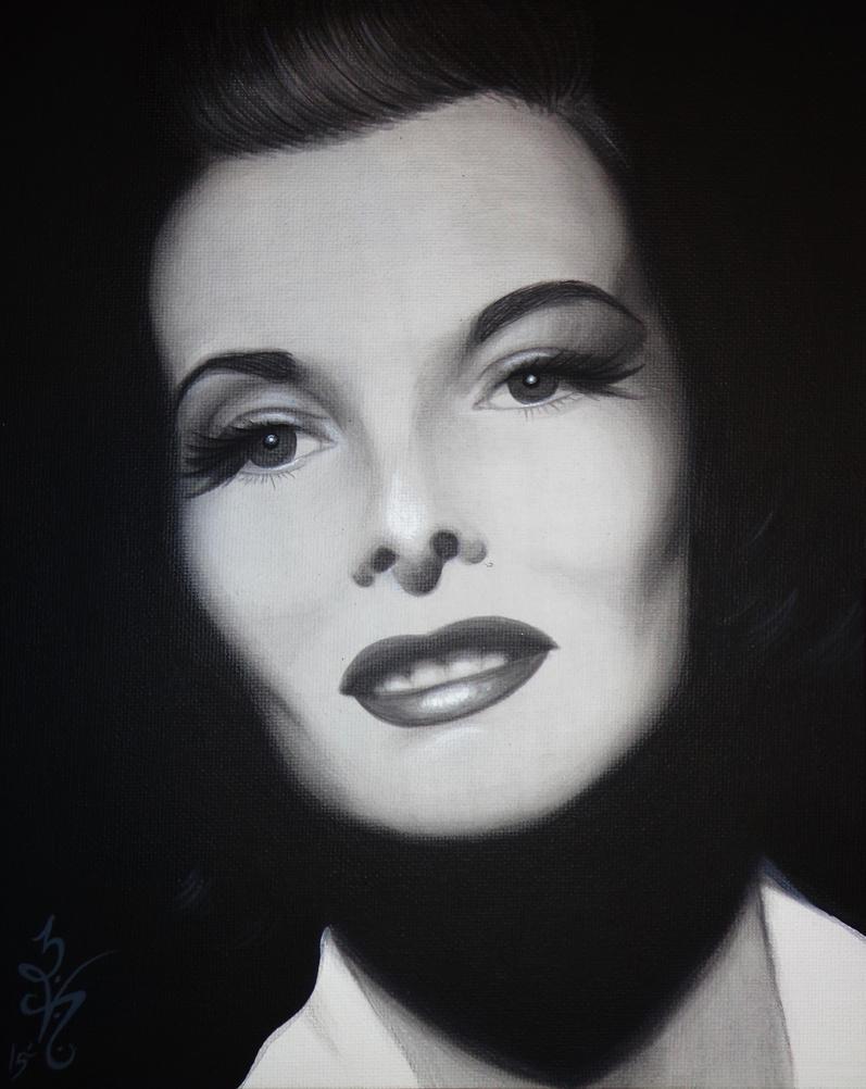 Katharine Hepburn by natalievonraven