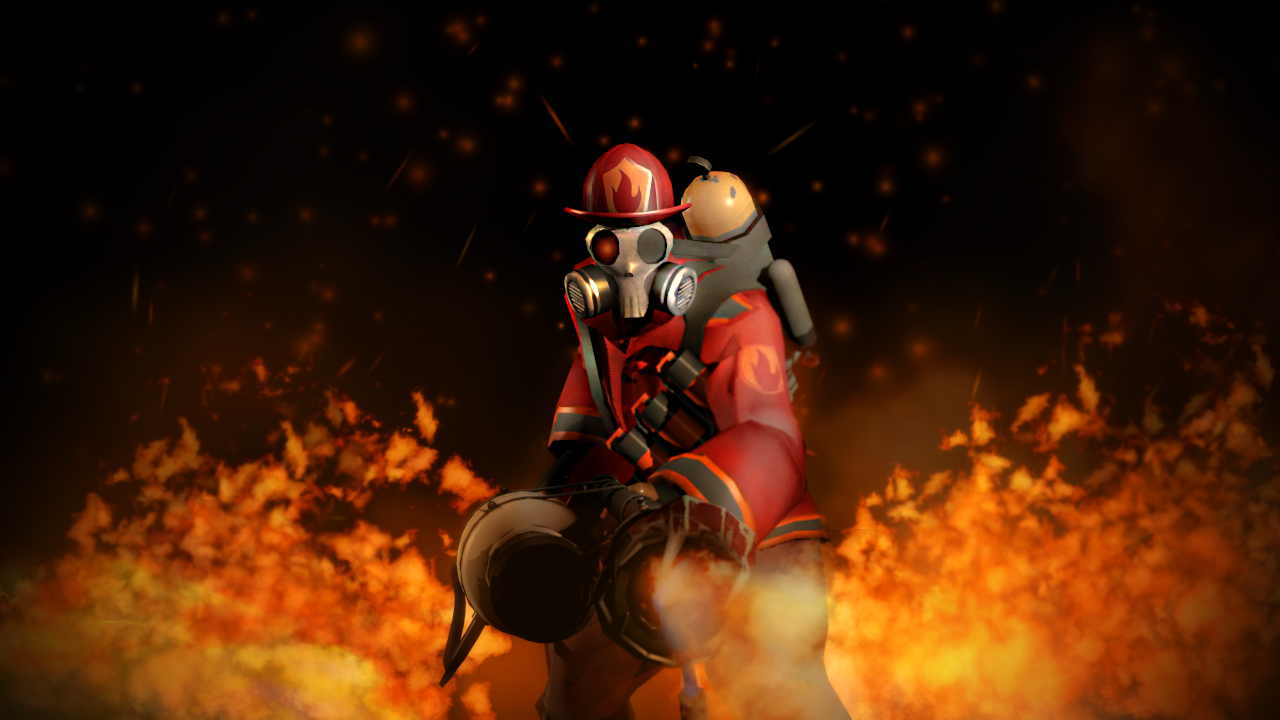 Tf2 pyro wallpapers